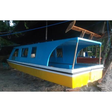 Speed Boat Fiberglass / Kapal Penumpang