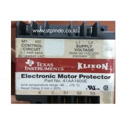 Electronic Motor Protector
